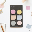 Pink - Small sticky note set for monthly and weekly plan