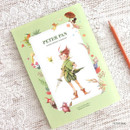 Peter pan - Indigo Classic story undated monthly diary
