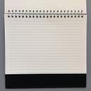 Free note - 6 months undated weekly desk scheduler