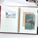 Free note - Wanna This Time for me undated weekly diary planner