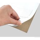 Sturdy back - Plain dateless weekly desk planner pad