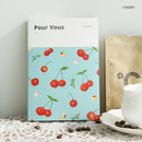 Cherry - Pour vous fruit undated weekly diary planner