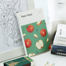 Apple - Pour vous fruit undated weekly diary planner