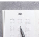 Calendar - Pour vous fruit undated weekly diary planner