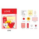 Love - Gunmangzeung Zem decoration sticker pack