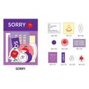 Sorry - Gunmangzeung Zem decoration sticker pack