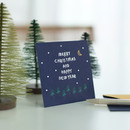 2NUL Christmas folded messages card set