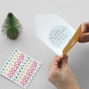 How to use - 2NUL Christmas folded messages card set
