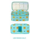 Sally - Line friends travel underwear pouch organizer