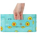 Top handle - Line friends travel large multi pouch bag organizer