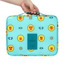 Line friends travel large multi pouch bag organizer