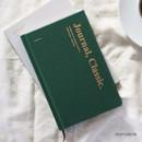 Deep green - Wanna This Classic journal dateless daily agenda diary