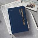 Navy - Wanna This Classic journal dateless daily agenda diary