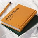 Orange - Wanna This Classic journal dateless daily agenda diary