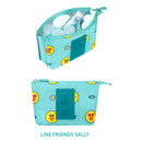 Sally - Line friends travel mesh small pocket pouch