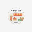 Dailylike Deco 25mm single roll masking tape - Fruits store