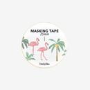 Dailylike Deco 25mm single roll masking tape - Flamingo