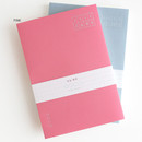 Pink - 3AL 2019 Today thinking dated daily diary