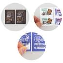 NACOO Vintage 3 small label sticker set