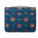 Back - Line friends pattern travel hanging toiletry bag