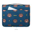 Back pocket - Line friends pattern travel hanging toiletry bag