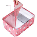 Mesh - Line friends small travel packing cube organizer bag