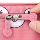 Rubber zipper slider - Line friends small travel packing cube organizer bag
