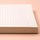 200 sheets - Ardium 400 Squared manuscript paper notepad