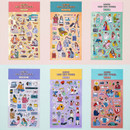 Ardium Daily colorful illustration deco paper sticker