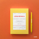 Lemon - Vintage new color dateless weekly journal planner