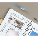 Note - Wanna This Clear undated weekly planner
