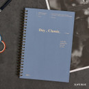 Slate blue - Wanna This Classic wire bound dateless daily scheduler