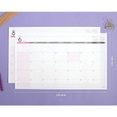 Size - 2019 Wide desk dated monthly planner scheduler