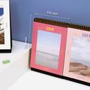 Size - Second mansion 2019 Moment monthly desk to flip calendar