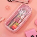 Pink - Dear moonlight twinkle multi zip around pouch