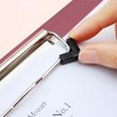 attachable pin - Bookfriends World literature clipboard with low profile clip