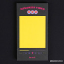 Memories video - After The Rain Retro plain memo notepad