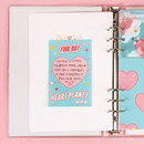 Heart planet - After The Rain Hally day deco pocket plain memo notepad