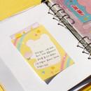 Peach jelly - After The Rain Hally day deco pocket plain memo notepad