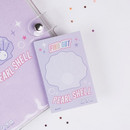 Pearl shell - After The Rain Hally day deco pocket plain memo notepad