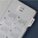 PP clear bookmark - All about the project dateless weekly planner