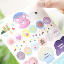 Example of use - Diary deco sticker 9 sheets in one set ver9
