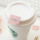 Pink - Note small sticky memo set for monthly and weekly plan