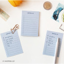 Shopping list - PAPERIAN Make a memo sticky notepad