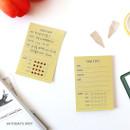 Today's spot - PAPERIAN Make a memo sticky notepad
