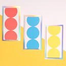 Lucalab Neon three dots plain notepad