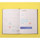 Monthly plan - 12 months dateless weekly diary planner