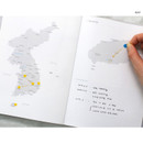 Map - Cloud story office life dateless daily planner