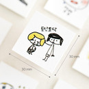 Size - Todac Todac message paper deco sticker set