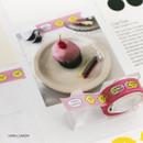 100% Lemon - Brunch Brother washi paper deco masking tape
